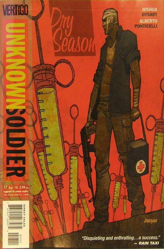Cover of Unknown Soldier (Vol 2) #17. One of 250,000 Vintage American Comics on sale from Krypton!