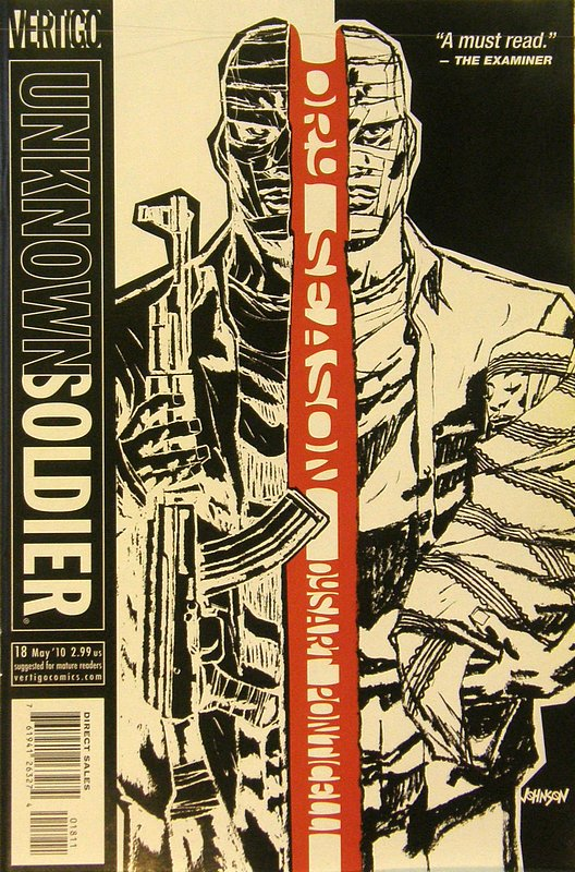 Cover of Unknown Soldier (Vol 2) #18. One of 250,000 Vintage American Comics on sale from Krypton!