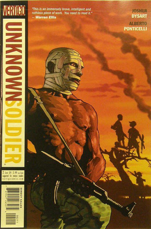 Cover of Unknown Soldier (Vol 2) #2. One of 250,000 Vintage American Comics on sale from Krypton!