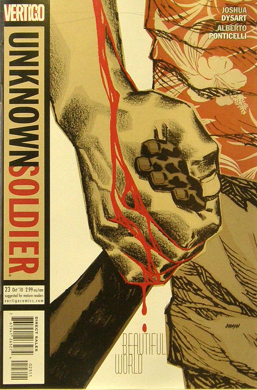 Cover of Unknown Soldier (Vol 2) #23. One of 250,000 Vintage American Comics on sale from Krypton!