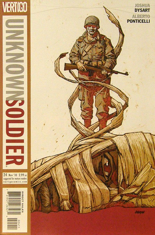 Cover of Unknown Soldier (Vol 2) #24. One of 250,000 Vintage American Comics on sale from Krypton!