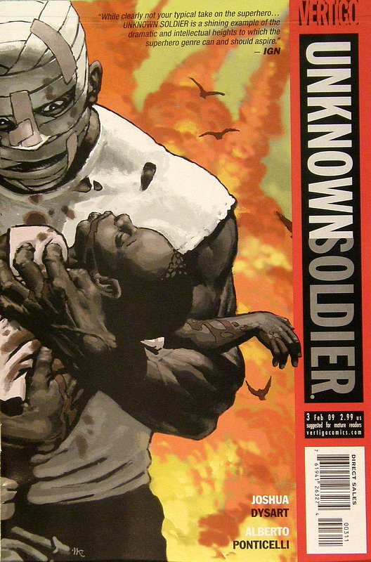 Cover of Unknown Soldier (Vol 2) #3. One of 250,000 Vintage American Comics on sale from Krypton!