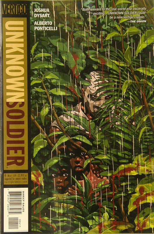 Cover of Unknown Soldier (Vol 2) #4. One of 250,000 Vintage American Comics on sale from Krypton!