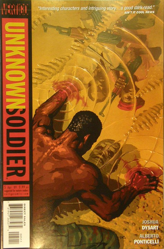 Cover of Unknown Soldier (Vol 2) #5. One of 250,000 Vintage American Comics on sale from Krypton!