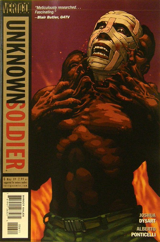 Cover of Unknown Soldier (Vol 2) #6. One of 250,000 Vintage American Comics on sale from Krypton!