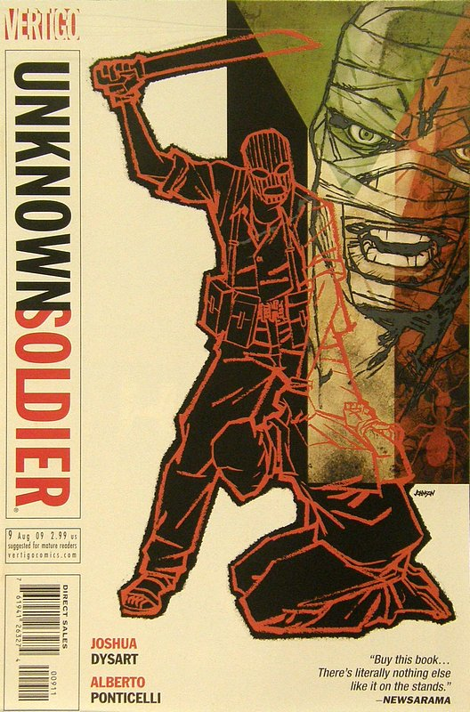 Cover of Unknown Soldier (Vol 2) #9. One of 250,000 Vintage American Comics on sale from Krypton!