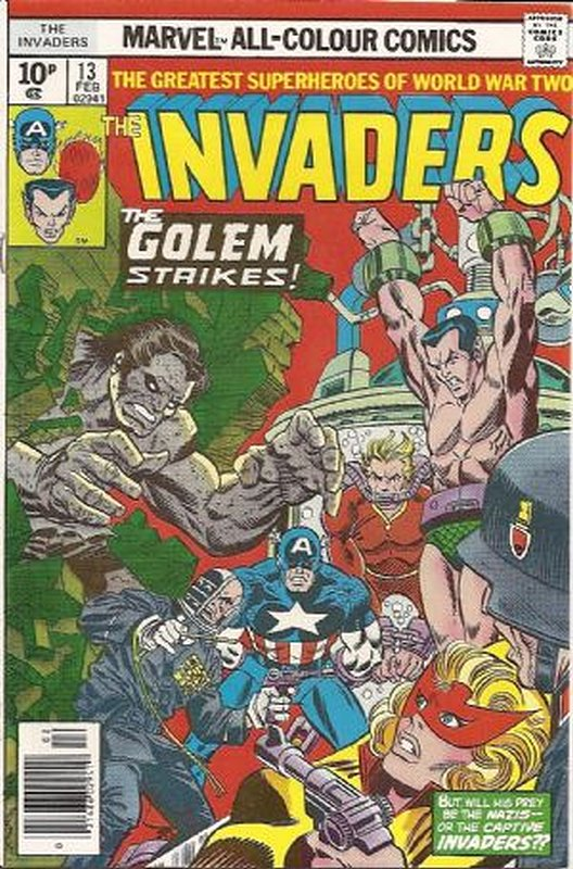 Cover of Invaders (Vol 1) #13. One of 250,000 Vintage American Comics on sale from Krypton!
