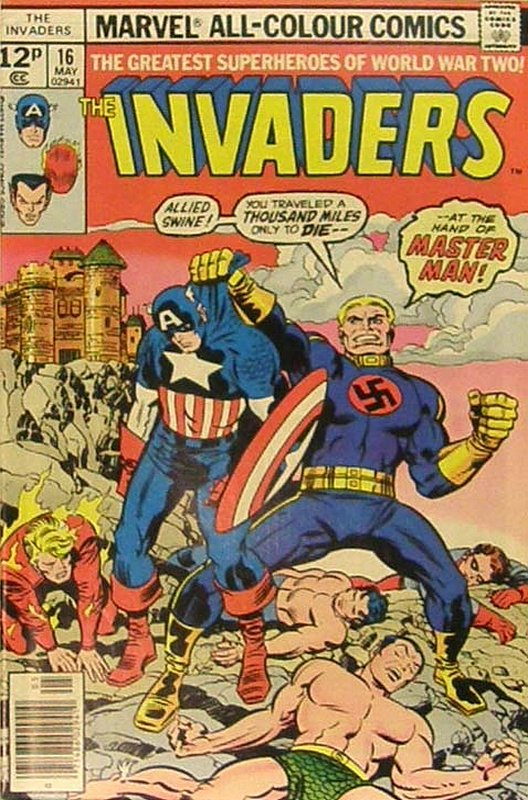 Cover of Invaders (Vol 1) #16. One of 250,000 Vintage American Comics on sale from Krypton!