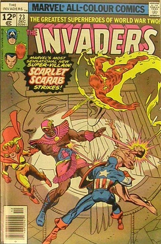 Cover of Invaders (Vol 1) #23. One of 250,000 Vintage American Comics on sale from Krypton!