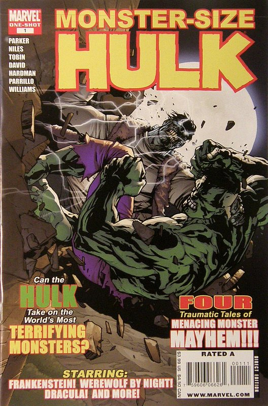 Cover of Hulk Monster Size Special #1. One of 250,000 Vintage American Comics on sale from Krypton!