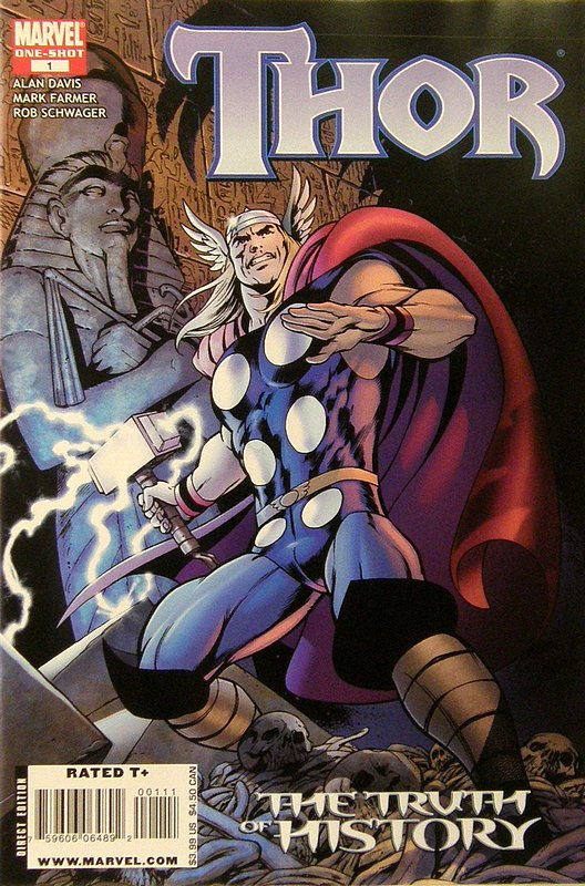 Cover of Thor: The Truth of History #1. One of 250,000 Vintage American Comics on sale from Krypton!