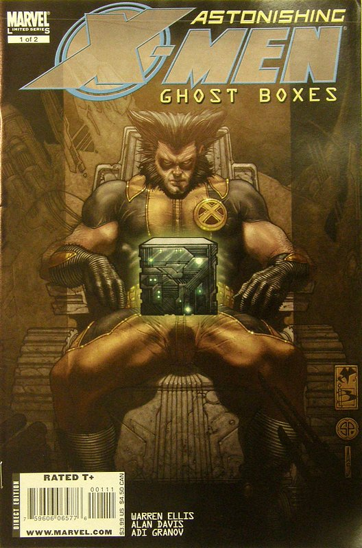 Cover of Astonishing X-Men: Ghost Boxes #1. One of 250,000 Vintage American Comics on sale from Krypton!