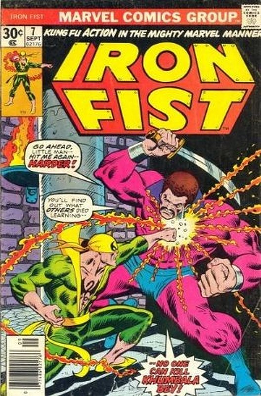 Cover of Iron Fist (Vol 1) #7. One of 250,000 Vintage American Comics on sale from Krypton!