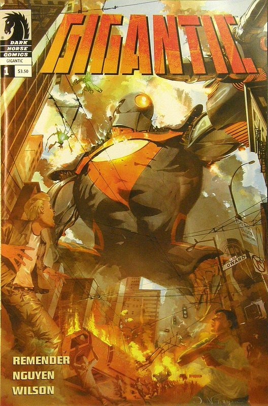 Cover of Gigantic (2008 Ltd) #1. One of 250,000 Vintage American Comics on sale from Krypton!