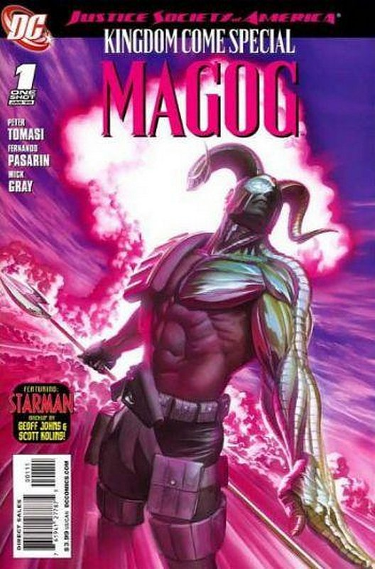 Cover of JSA Kingdom Come Special: Magog (2009 One Shot) #1. One of 250,000 Vintage American Comics on sale from Krypton!