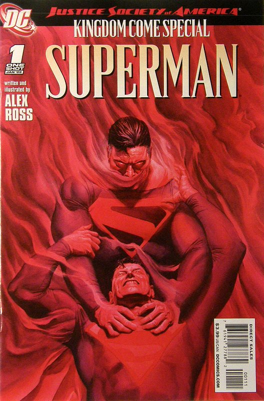 Cover of JSA Kingdom Come Special: Superman #1. One of 250,000 Vintage American Comics on sale from Krypton!