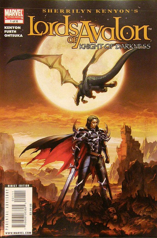 Cover of Lords of Avalon: Knights of Darkness (2008 Ltd) #1. One of 250,000 Vintage American Comics on sale from Krypton!