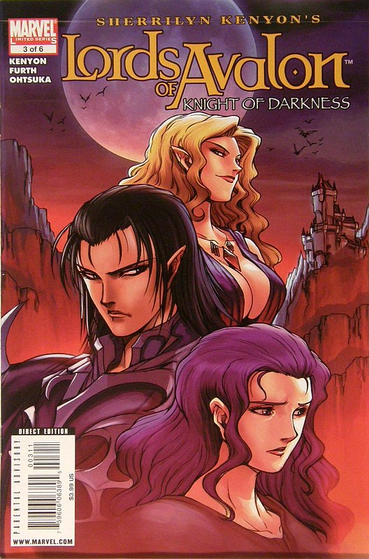 Cover of Lords of Avalon: Knights of Darkness (2008 Ltd) #3. One of 250,000 Vintage American Comics on sale from Krypton!