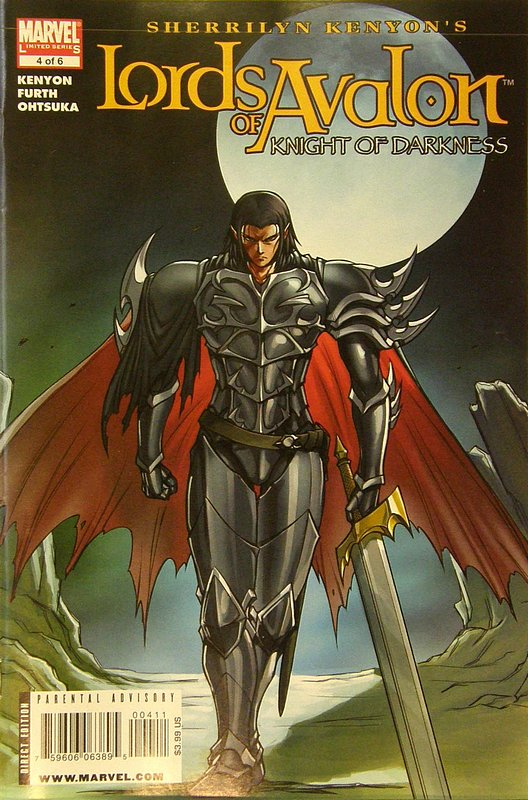 Cover of Lords of Avalon: Knights of Darkness (2008 Ltd) #4. One of 250,000 Vintage American Comics on sale from Krypton!