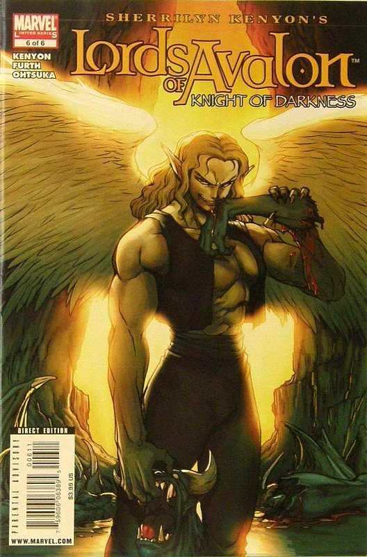Cover of Lords of Avalon: Knights of Darkness (2008 Ltd) #6. One of 250,000 Vintage American Comics on sale from Krypton!