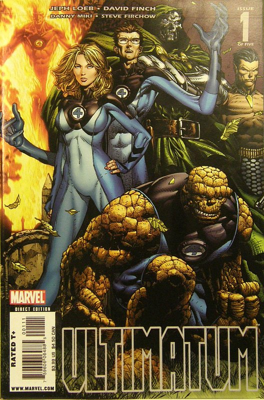 Cover of Ultimatum (2008 Ltd) #1. One of 250,000 Vintage American Comics on sale from Krypton!