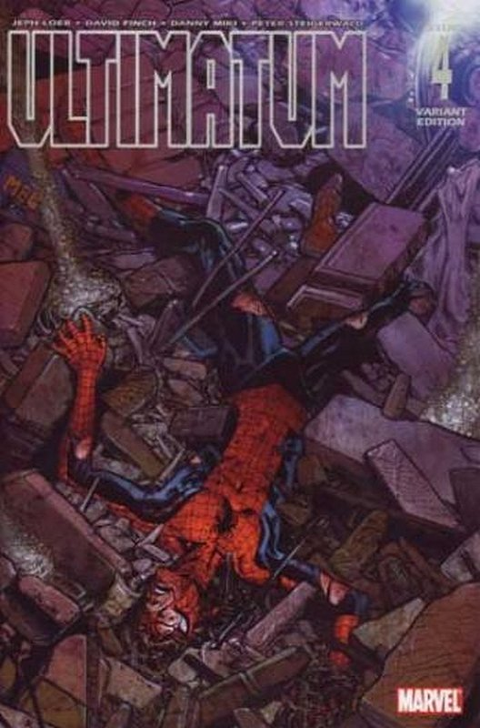 Cover of Ultimatum (2008 Ltd) #4. One of 250,000 Vintage American Comics on sale from Krypton!