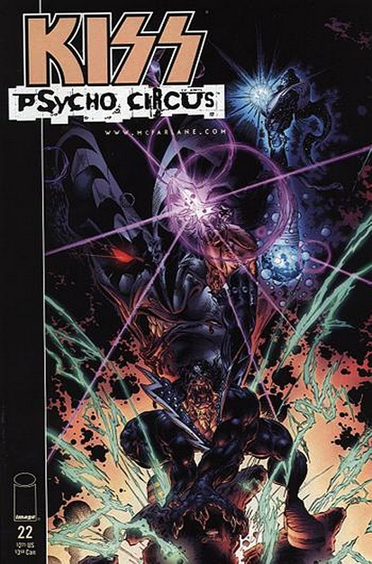 Cover of Kiss the Psycho Circus (Vol 1) #22. One of 250,000 Vintage American Comics on sale from Krypton!