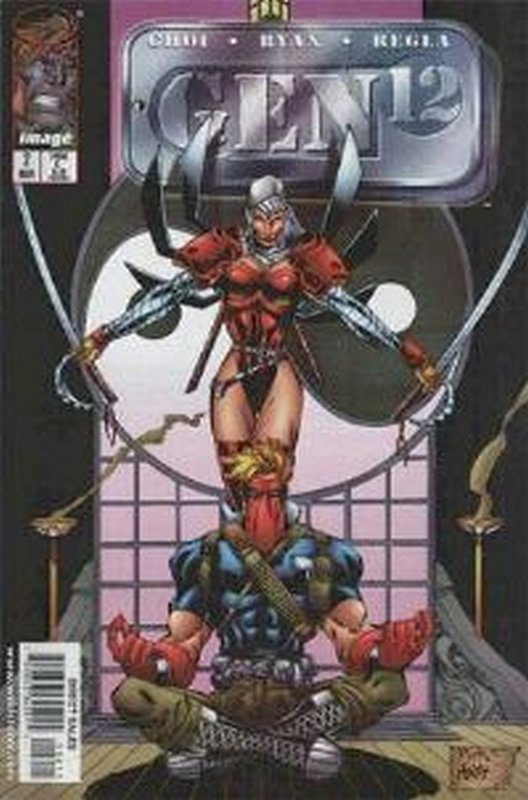 Cover of Gen 12 (1998 Ltd) #2. One of 250,000 Vintage American Comics on sale from Krypton!