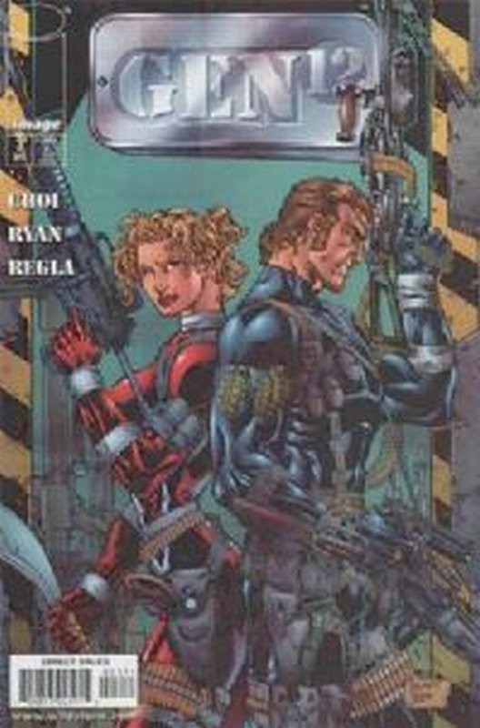 Cover of Gen 12 (1998 Ltd) #3. One of 250,000 Vintage American Comics on sale from Krypton!