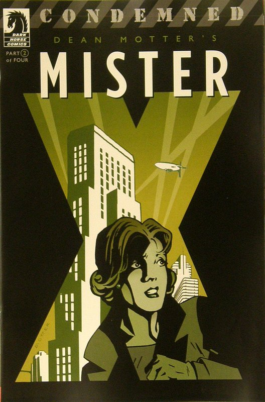 Cover of Mister X: Condemned (2008 Ltd) #2. One of 250,000 Vintage American Comics on sale from Krypton!