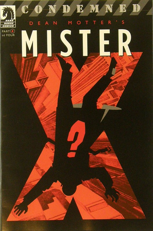 Cover of Mister X: Condemned (2008 Ltd) #4. One of 250,000 Vintage American Comics on sale from Krypton!
