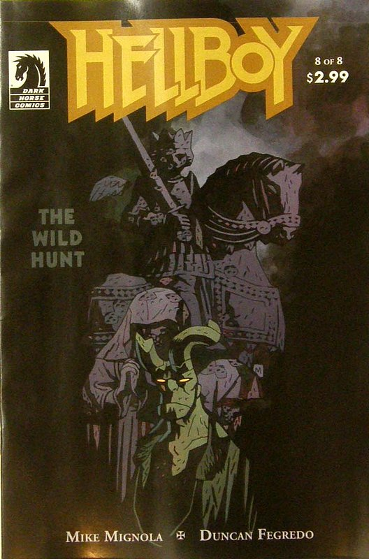 Cover of Hellboy: Wild Hunt #8. One of 250,000 Vintage American Comics on sale from Krypton!