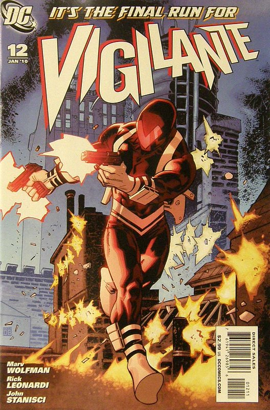 Cover of Vigilante (Vol 2) #12. One of 250,000 Vintage American Comics on sale from Krypton!