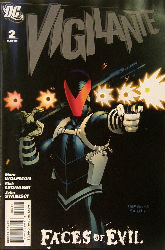 Cover of Vigilante (Vol 2) #2. One of 250,000 Vintage American Comics on sale from Krypton!