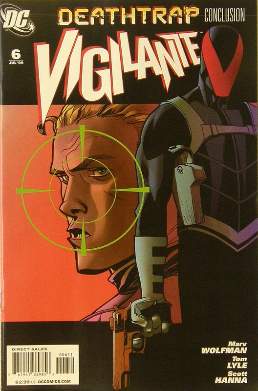 Cover of Vigilante (Vol 2) #6. One of 250,000 Vintage American Comics on sale from Krypton!