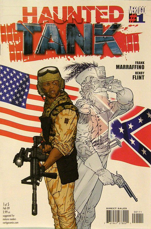 Cover of Haunted Tank (Vol 1) #1. One of 250,000 Vintage American Comics on sale from Krypton!