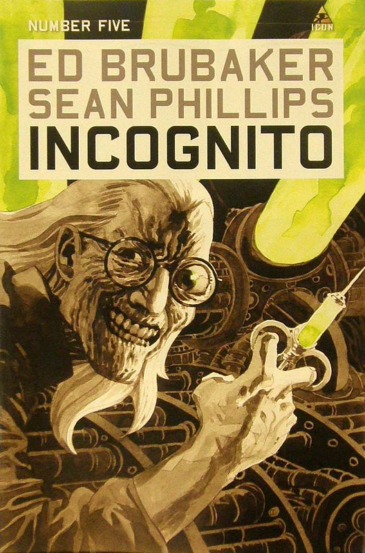 Cover of Incognito (Vol 1) #5. One of 250,000 Vintage American Comics on sale from Krypton!