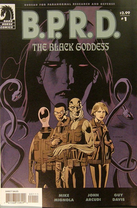 Cover of BPRD: Black Goddess (2009 Ltd) #1. One of 250,000 Vintage American Comics on sale from Krypton!