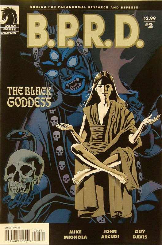 Cover of BPRD: Black Goddess (2009 Ltd) #2. One of 250,000 Vintage American Comics on sale from Krypton!