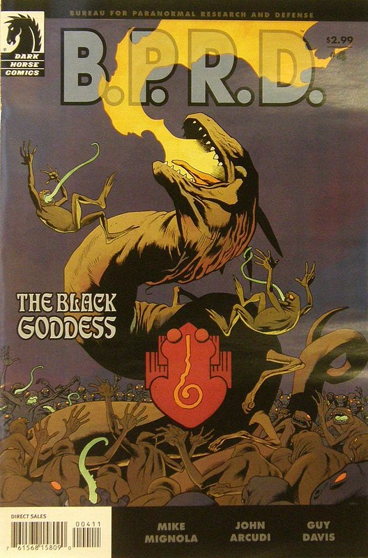Cover of BPRD: Black Goddess (2009 Ltd) #4. One of 250,000 Vintage American Comics on sale from Krypton!