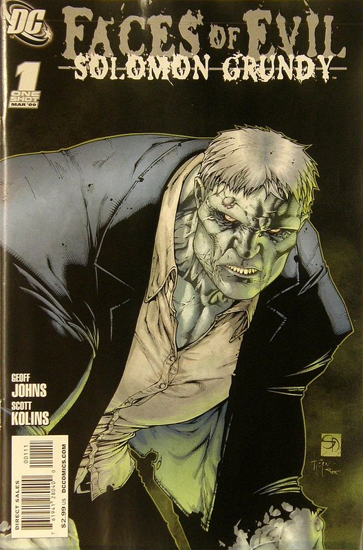 Cover of Faces of Evil: Grundy (2009 One Shot) #1. One of 250,000 Vintage American Comics on sale from Krypton!