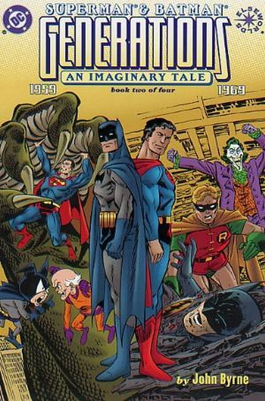 Cover of Superman & Batman: Generations (1998 Ltd) #2. One of 250,000 Vintage American Comics on sale from Krypton!