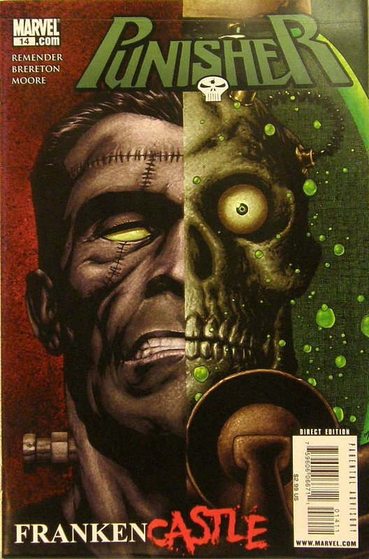 Cover of Punisher (Vol 4) #14. One of 250,000 Vintage American Comics on sale from Krypton!