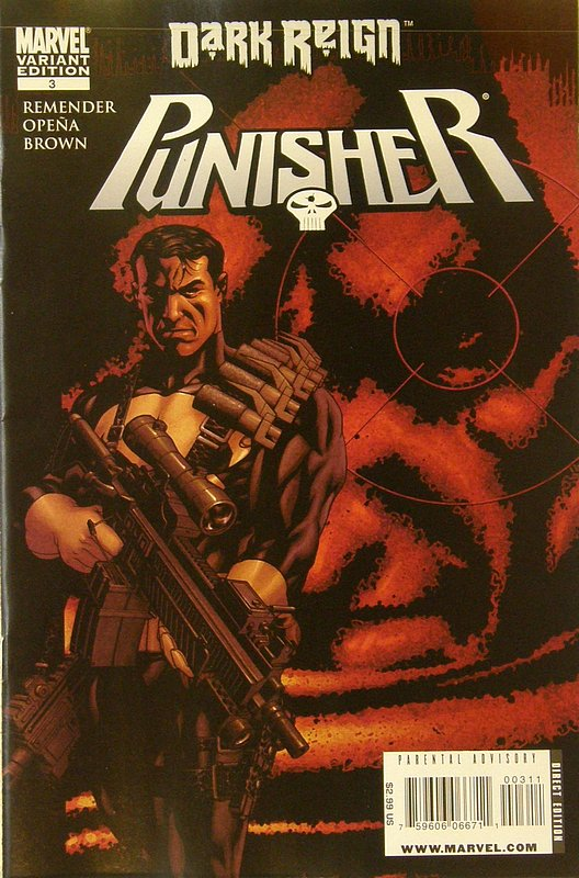 Cover of Punisher (Vol 4) #3. One of 250,000 Vintage American Comics on sale from Krypton!