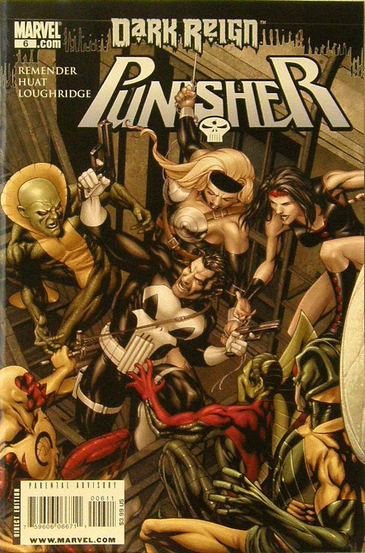 Cover of Punisher (Vol 4) #6. One of 250,000 Vintage American Comics on sale from Krypton!