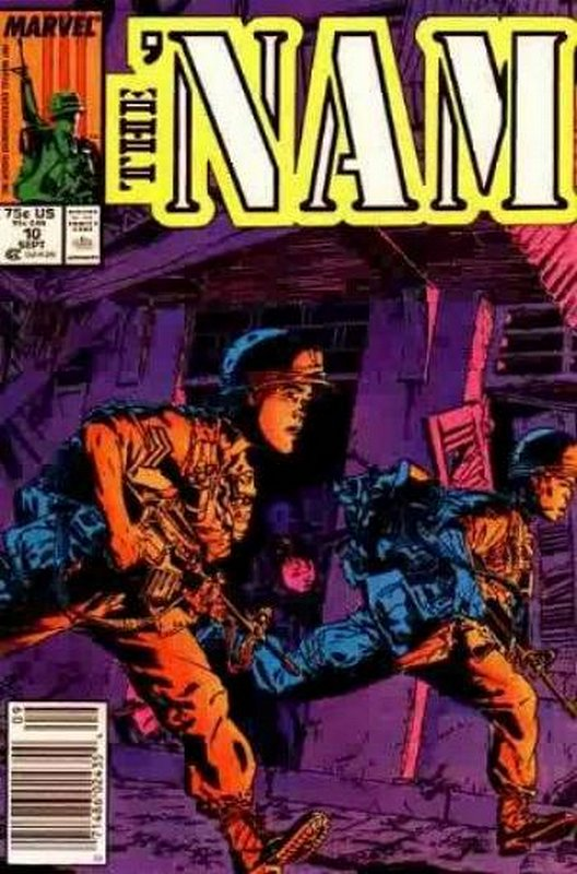 Cover of Nam (Vol 1)The #10. One of 250,000 Vintage American Comics on sale from Krypton!