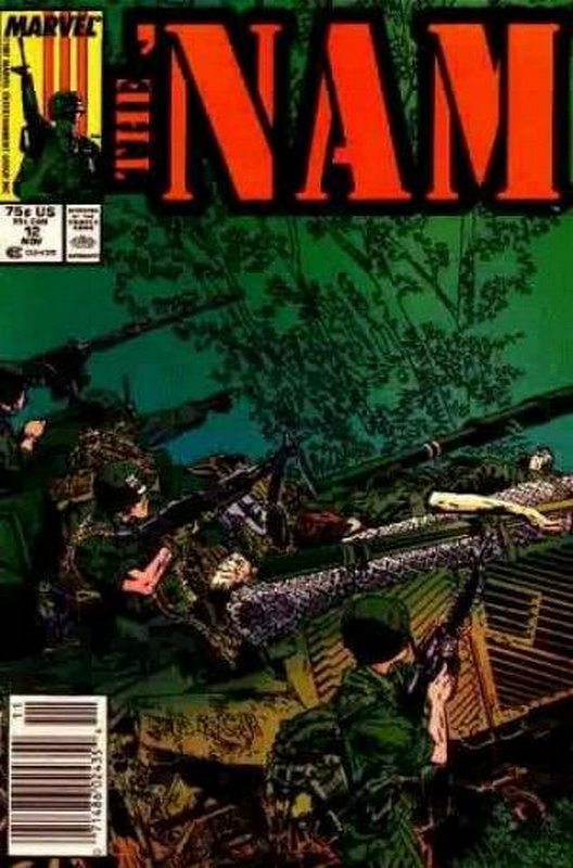 Cover of Nam (Vol 1)The #12. One of 250,000 Vintage American Comics on sale from Krypton!