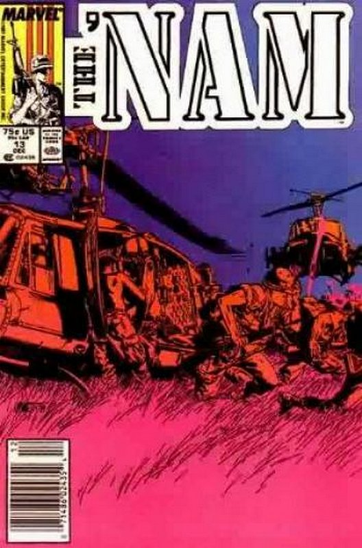 Cover of Nam (Vol 1)The #13. One of 250,000 Vintage American Comics on sale from Krypton!