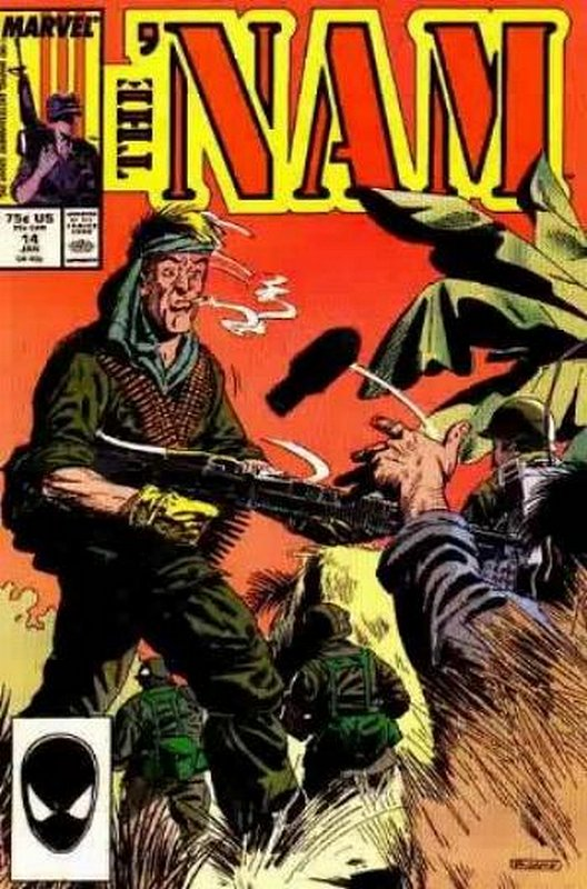 Cover of Nam (Vol 1)The #14. One of 250,000 Vintage American Comics on sale from Krypton!