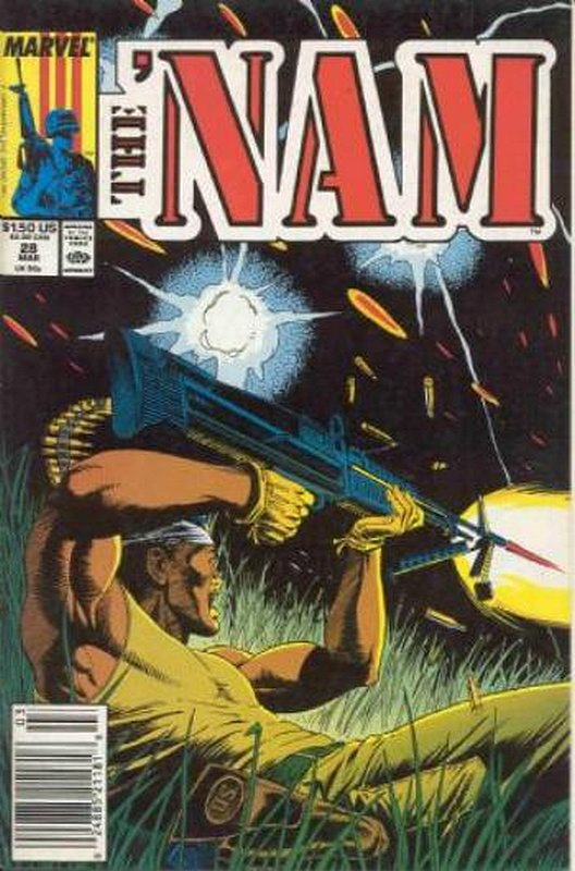 Cover of Nam (Vol 1)The #28. One of 250,000 Vintage American Comics on sale from Krypton!